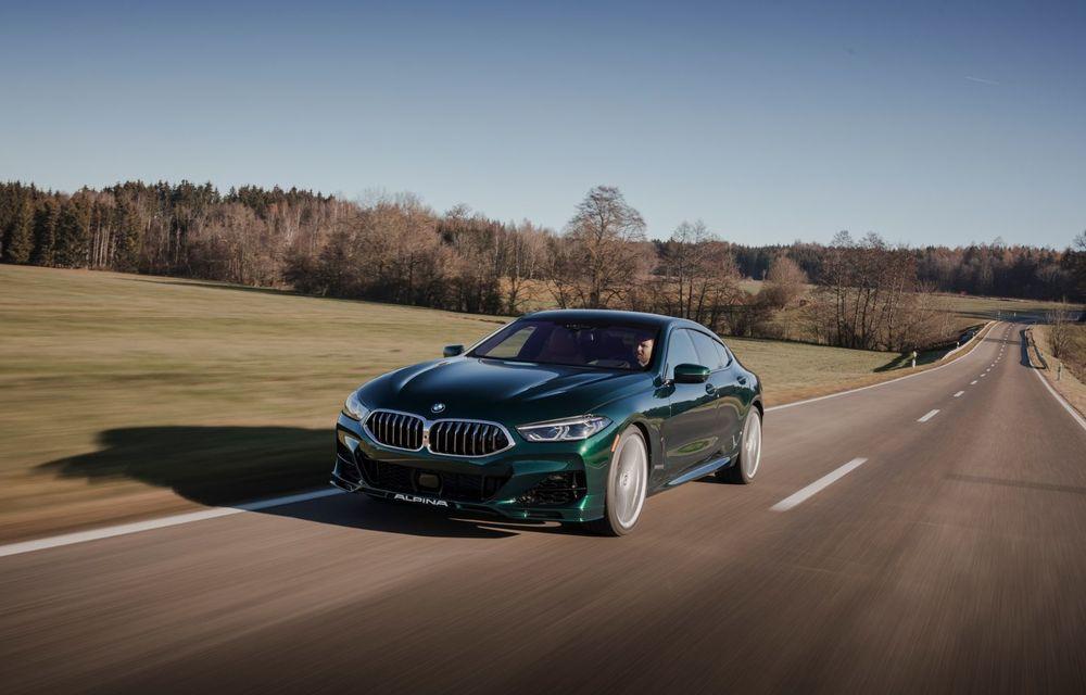 Alpina prezintă noul B8 Gran Coupe: motorul V8 dezvoltă 620 de cai putere - Poza 5