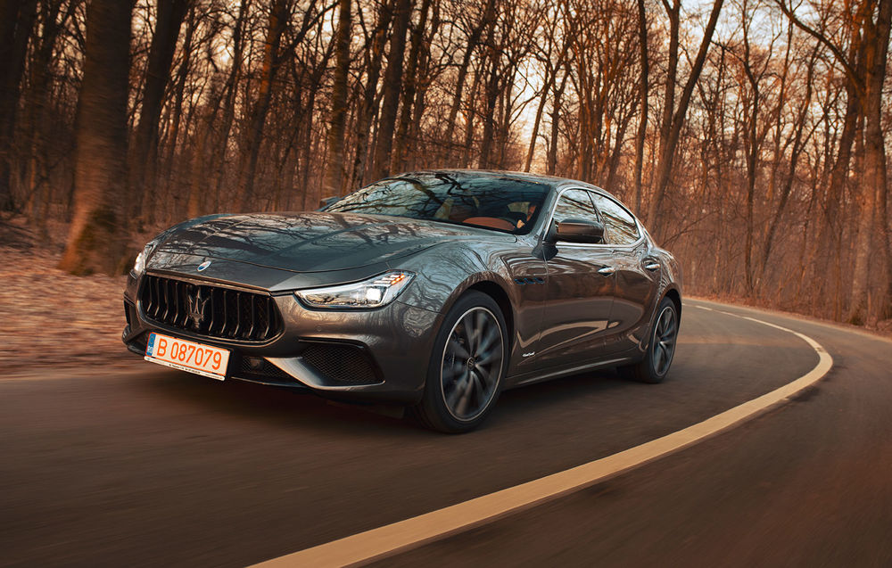 Test Drive Maserati Ghibli Hybrid