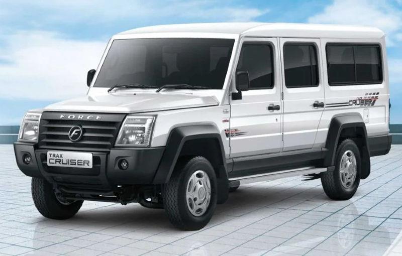 Force Motors Trax Cruiser este un SUV cu 12 locuri care vine din India - Poza 1