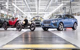 Bentley sărbătorește producția a 200.000 de mașini