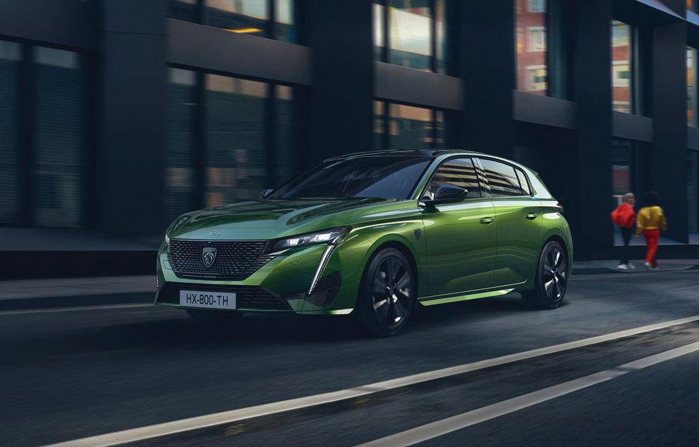 Noua generație Peugeot 308 va primi o versiune 100% electrică - Poza 1