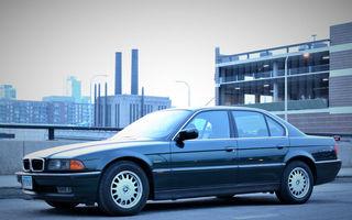 FOTO: Cum arăta un BMW Seria 7 cu dotări standard în anul 1994