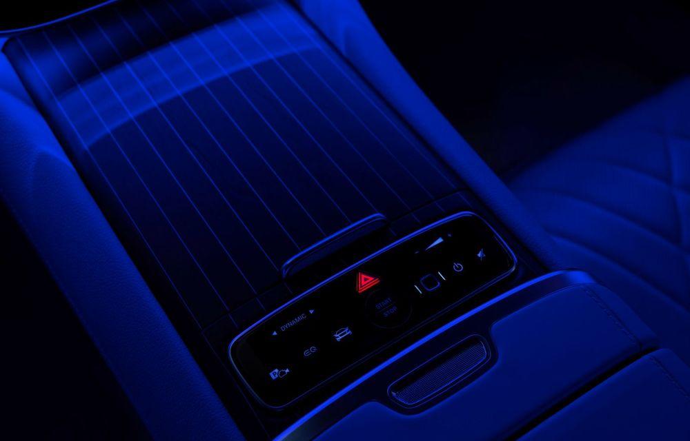 Mercedes a publicat primele imagini cu interiorul noului sedan electric EQS - Poza 20