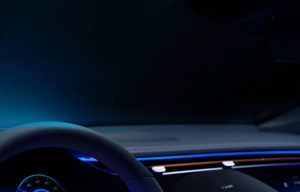 Mercedes a publicat primele imagini cu interiorul noului sedan electric EQS - Poza 16