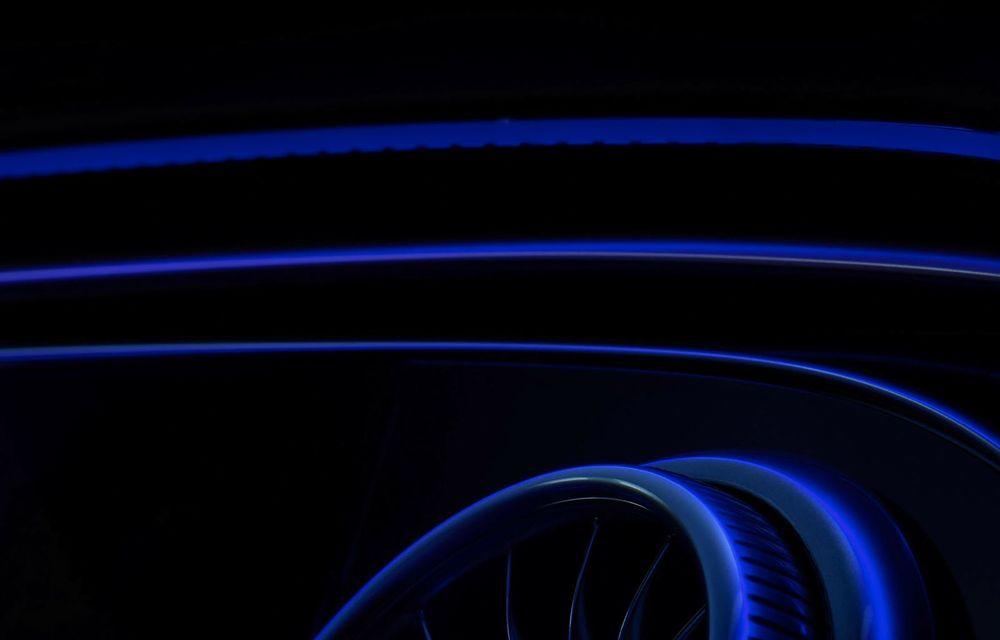 Mercedes a publicat primele imagini cu interiorul noului sedan electric EQS - Poza 19