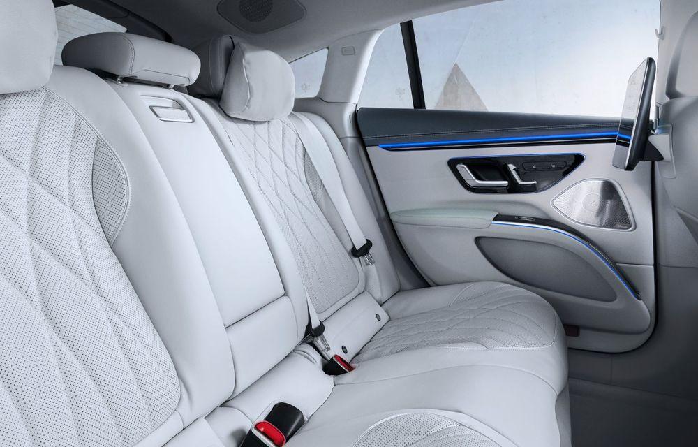 Mercedes a publicat primele imagini cu interiorul noului sedan electric EQS - Poza 4