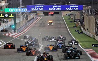 Hamilton câștigă prima cursă de Formula 1 din 2021 după o luptă strânsă cu Verstappen