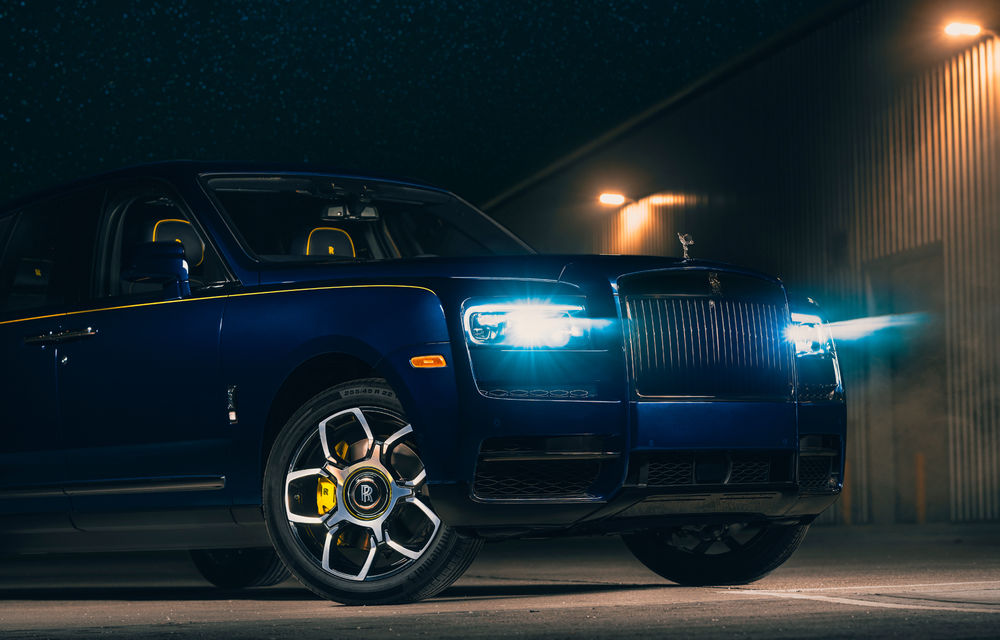 Un Rolls Royce Cullinan unicat, realizat la comandă pentru unul dintre directorii Google - Poza 4