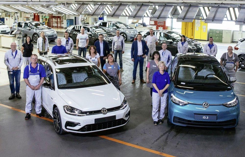 Volkswagen a atins o producție zilnică de 1.000 de mașini electrice la uzina din Zwickau - Poza 1