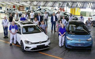 Volkswagen a atins o producție zilnică de 1.000 de mașini electrice la uzina din Zwickau