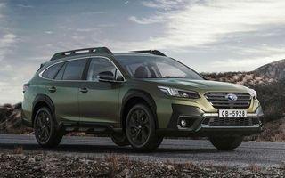 Noua generație Subaru Outback va fi disponibilă de luna viitoare în Europa