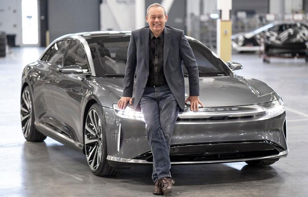 Lucid Motors, sedanul electric de 1065 de cai putere, primul pas al companiei către modele accesibile - Poza 2
