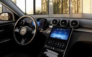 Imagini cu versiunea de bază a noului Mercedes-Benz Clasa C: ecrane mai mici, mai multe butoane