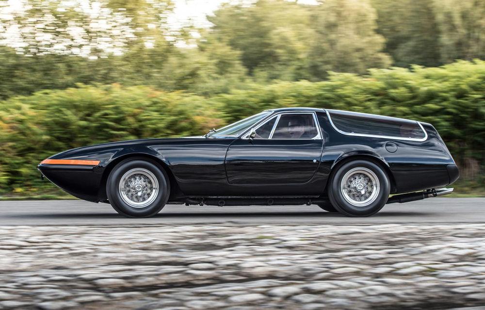 Concept olandez, omagiu adus legendarului Ferrari Daytona Shooting Brake - Poza 5