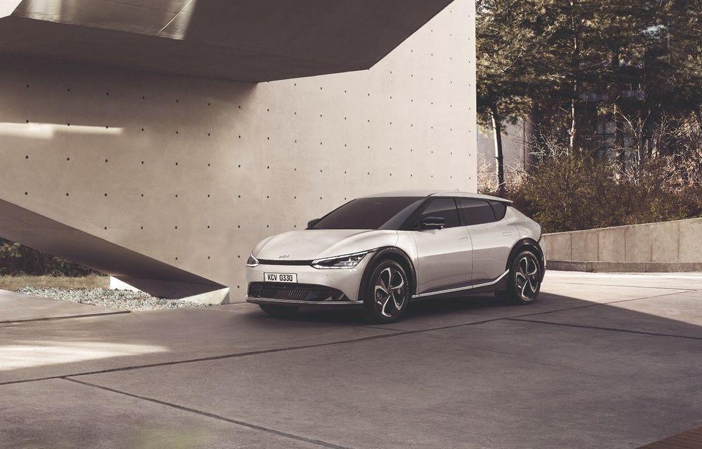 Detalii tehnice pentru Kia EV6: autonomie de 510 kilometri și două opțiuni pentru baterie - Poza 1