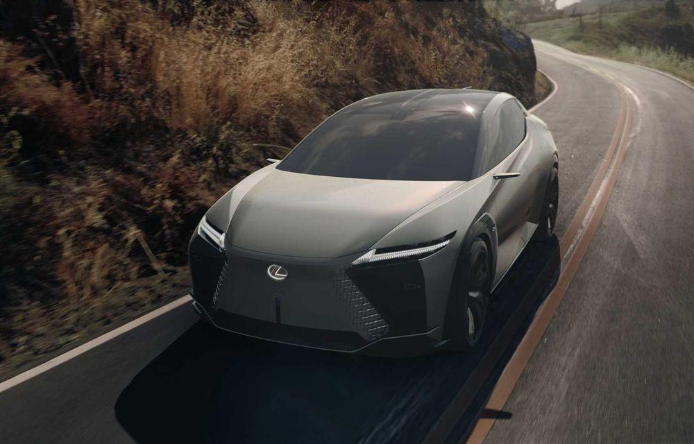 Lexus LF-Z Electrified: conceptul anunță lansarea a 20 de mașini electrificate până în 2025 - Poza 8