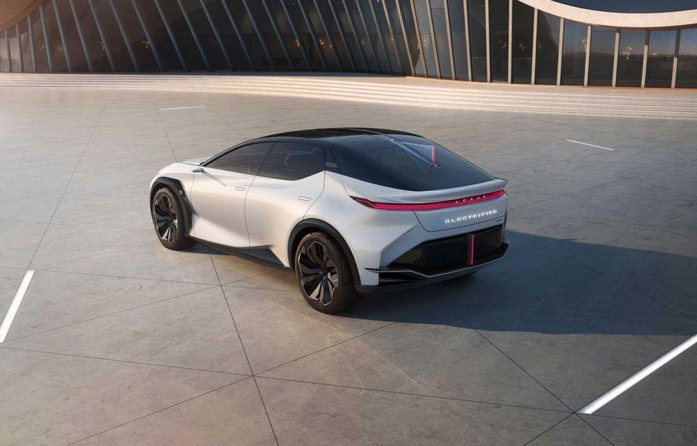 Lexus LF-Z Electrified: conceptul anunță lansarea a 20 de mașini electrificate până în 2025 - Poza 10