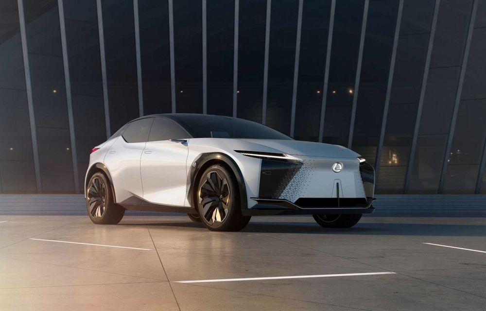 Lexus LF-Z Electrified: conceptul anunță lansarea a 20 de mașini electrificate până în 2025 - Poza 1