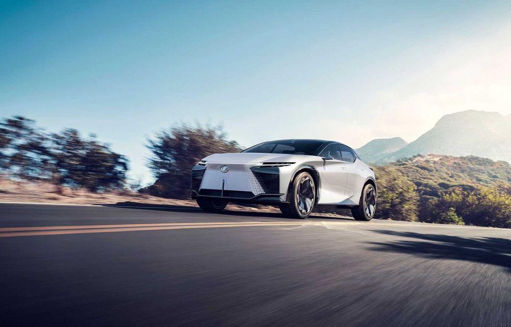 Lexus LF-Z Electrified: conceptul anunță lansarea a 20 de mașini electrificate până în 2025 - Poza 5