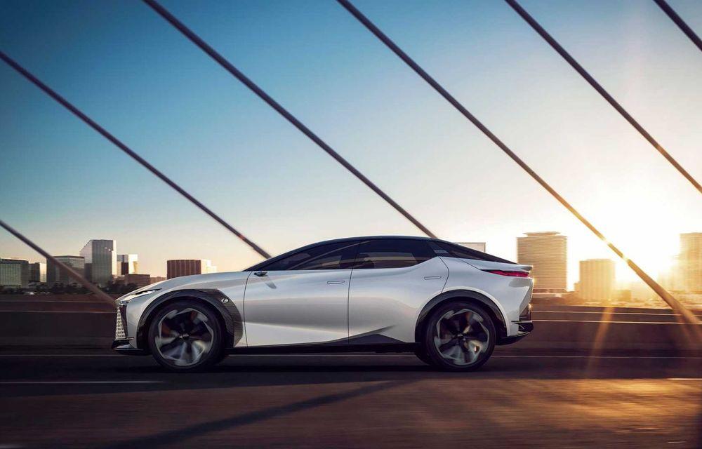 Lexus LF-Z Electrified: conceptul anunță lansarea a 20 de mașini electrificate până în 2025 - Poza 9