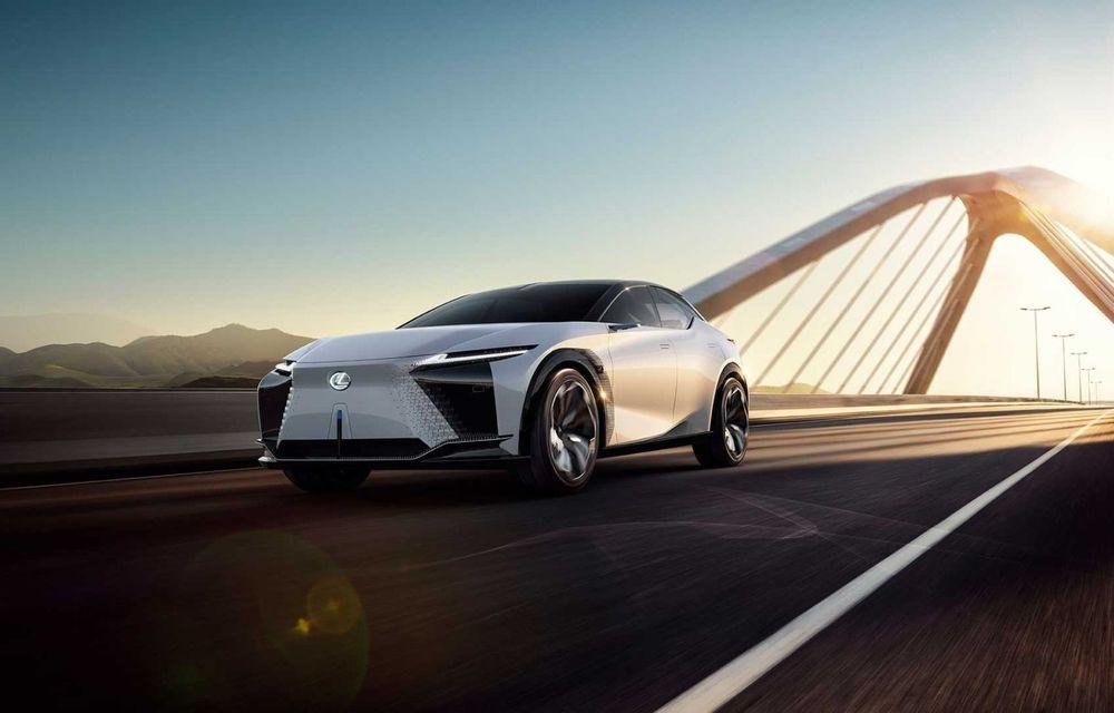 Lexus LF-Z Electrified: conceptul anunță lansarea a 20 de mașini electrificate până în 2025 - Poza 4