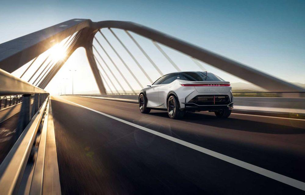 Lexus LF-Z Electrified: conceptul anunță lansarea a 20 de mașini electrificate până în 2025 - Poza 12