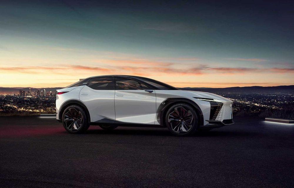 Lexus LF-Z Electrified: conceptul anunță lansarea a 20 de mașini electrificate până în 2025 - Poza 7