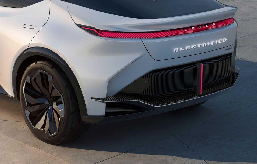 Lexus LF-Z Electrified: conceptul anunță lansarea a 20 de mașini electrificate până în 2025 - Poza 25