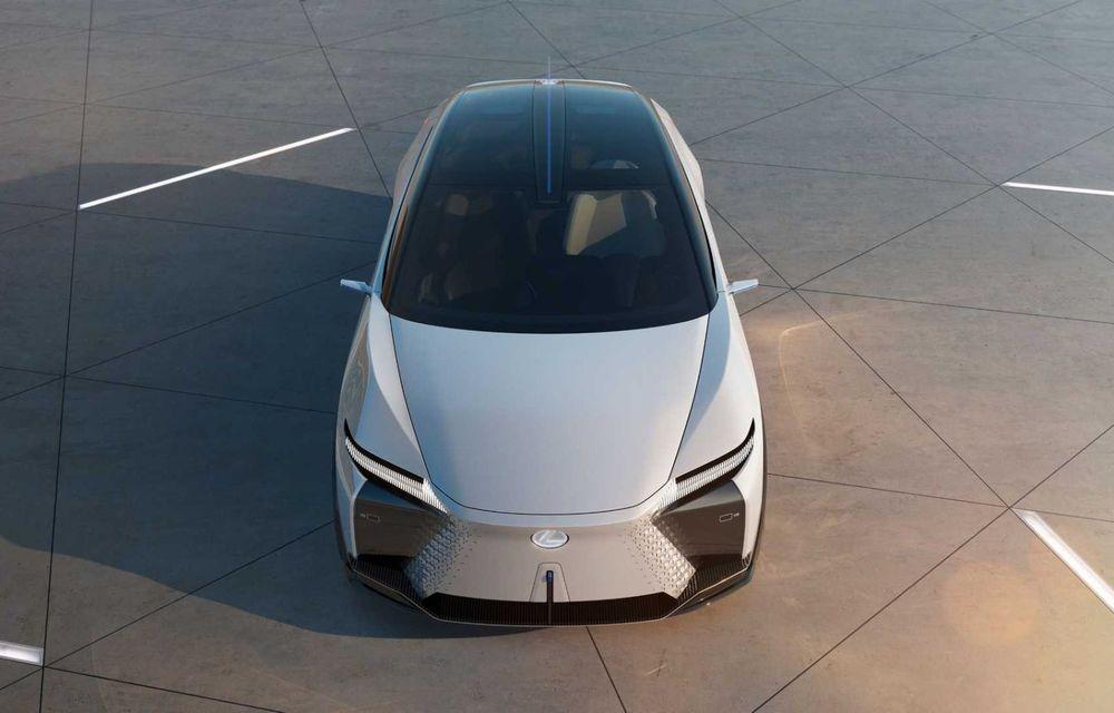 Lexus LF-Z Electrified: conceptul anunță lansarea a 20 de mașini electrificate până în 2025 - Poza 3