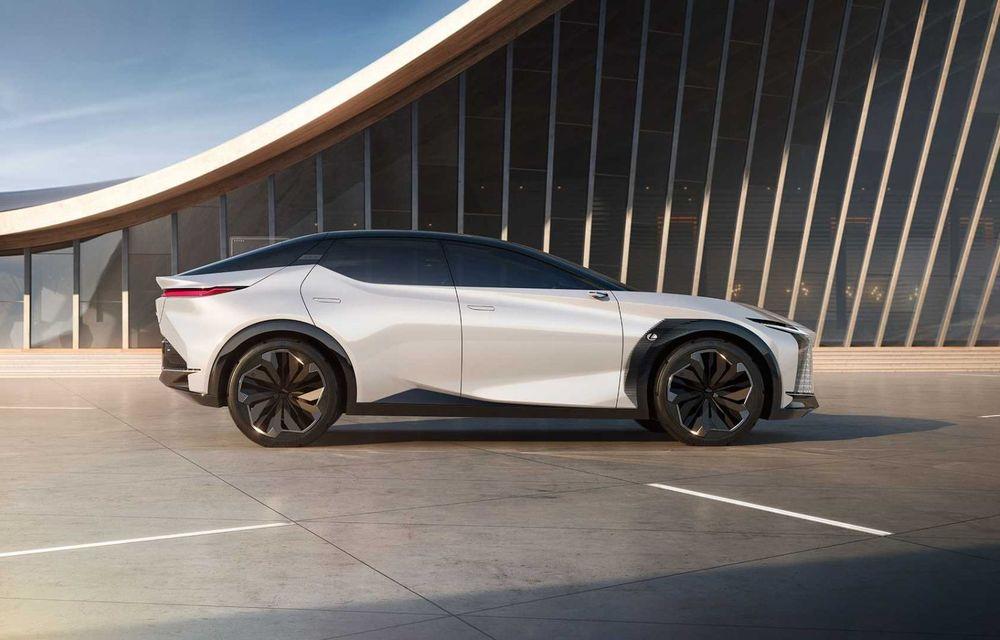 Lexus LF-Z Electrified: conceptul anunță lansarea a 20 de mașini electrificate până în 2025 - Poza 13