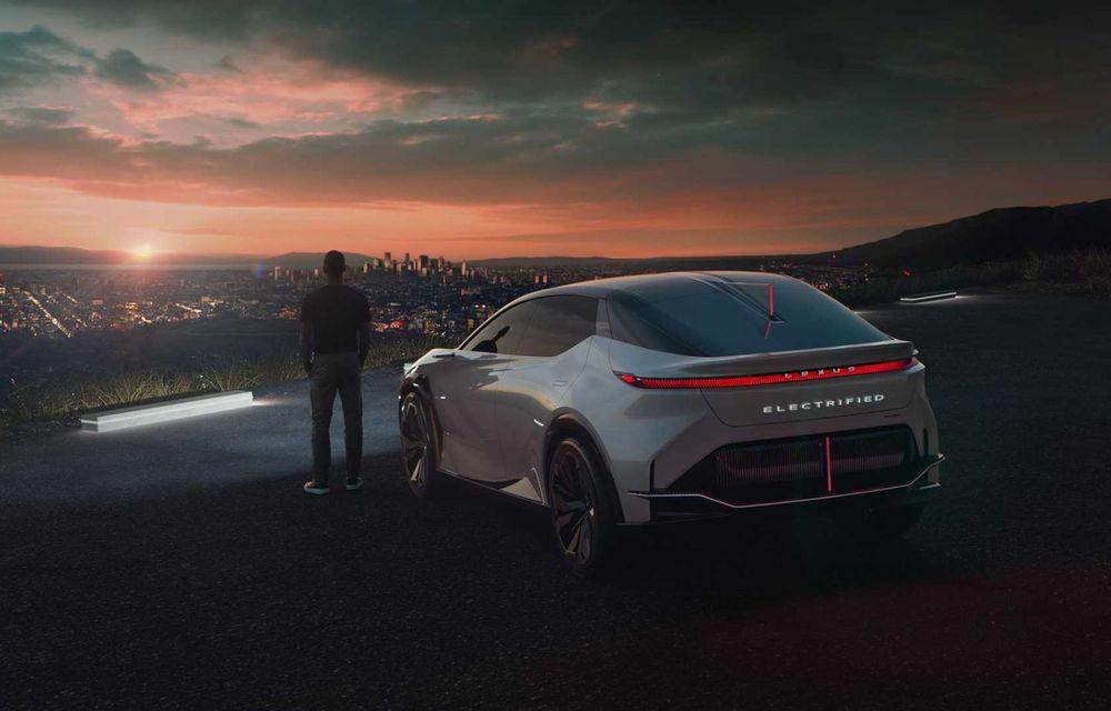 Lexus LF-Z Electrified: conceptul anunță lansarea a 20 de mașini electrificate până în 2025 - Poza 6