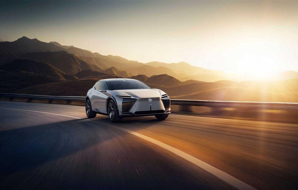 Lexus LF-Z Electrified: conceptul anunță lansarea a 20 de mașini electrificate până în 2025 - Poza 2