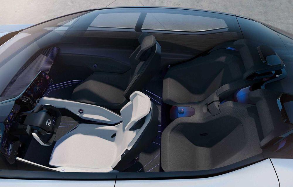Lexus LF-Z Electrified: conceptul anunță lansarea a 20 de mașini electrificate până în 2025 - Poza 15