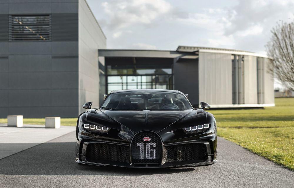 Bugatti a asamblat exemplarul Chiron cu numărul 300. Mașina aniversară este un Chiron Pur Sport - Poza 7