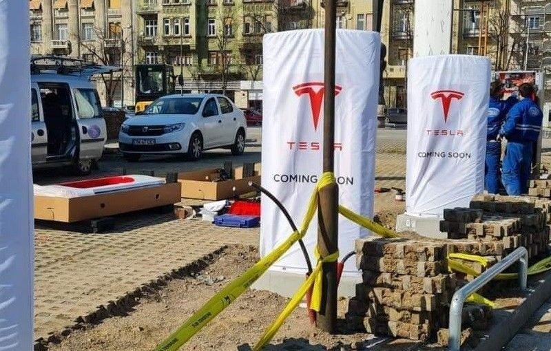 Prima stație Tesla Supercharger din România va fi inaugurată în aprilie - Poza 1