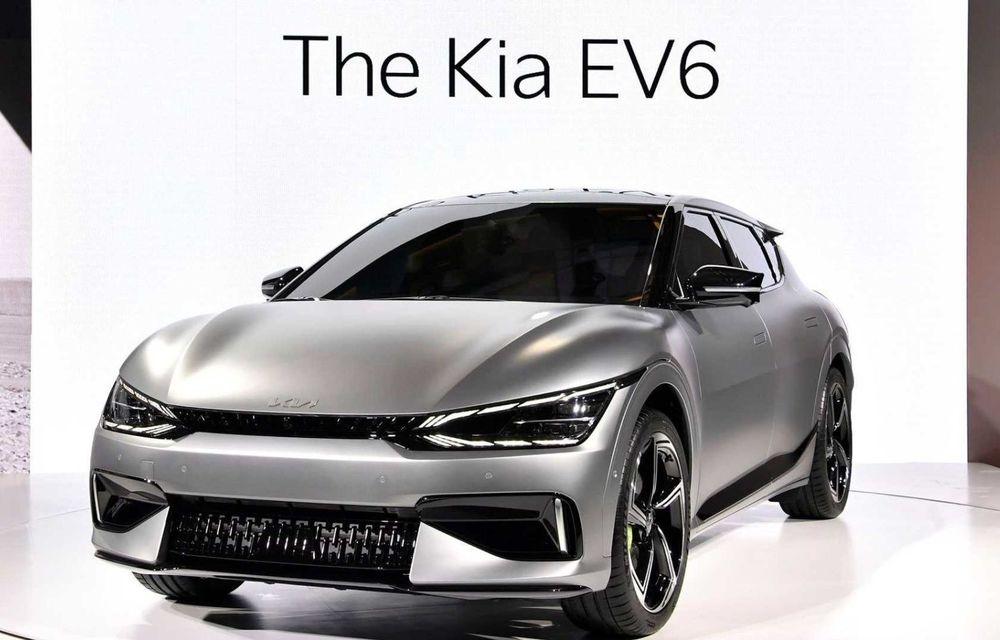 Kia a publicat primele imagini reale cu noul EV6 în versiunea GT - Poza 2