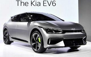 Kia a publicat primele imagini reale cu noul EV6 în versiunea GT