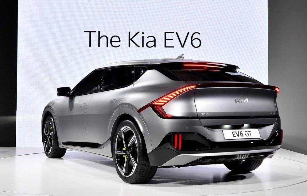 Kia a publicat primele imagini reale cu noul EV6 în versiunea GT - Poza 4