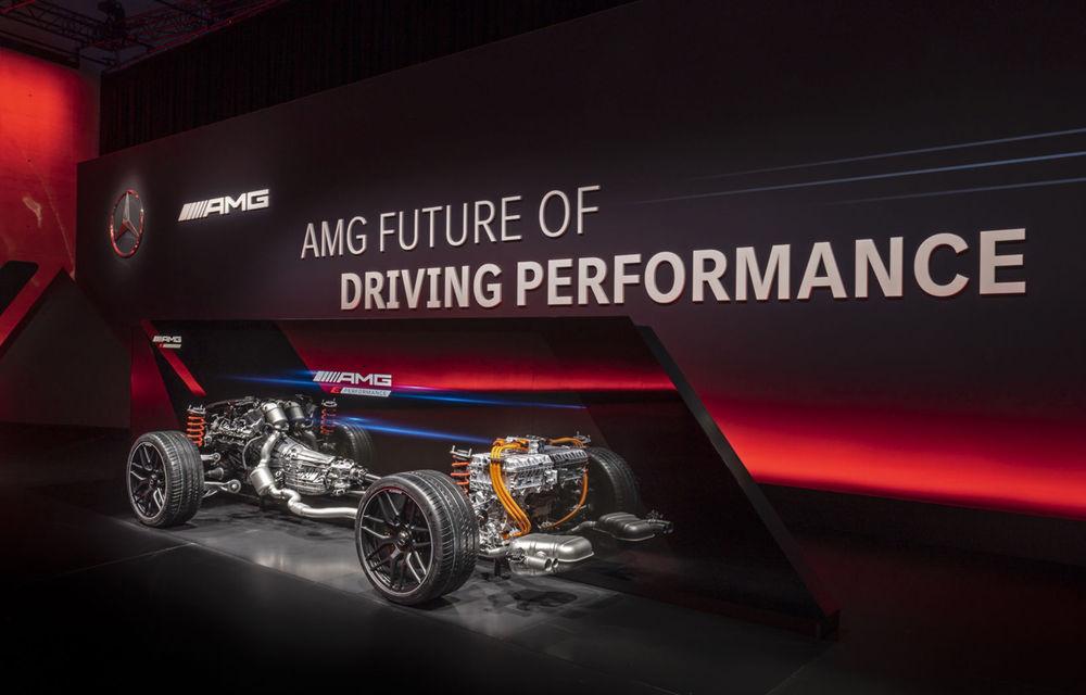 Modelele hibride Mercedes-AMG vor avea până la 804 de cai putere. Noul C63 va avea motor de 2.0 litri - Poza 8