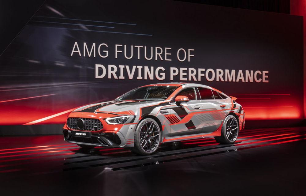Modelele hibride Mercedes-AMG vor avea până la 804 de cai putere. Noul C63 va avea motor de 2.0 litri - Poza 1