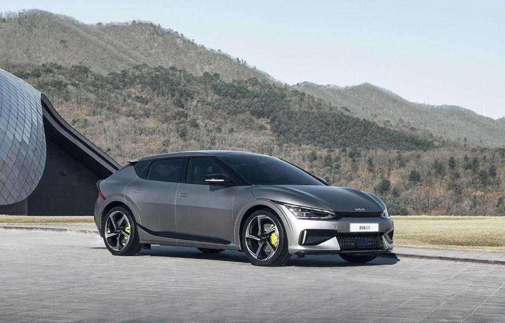 Kia va lansa mai multe modele electrice de performanță, asemănătoare cu noul EV6 GT - Poza 1