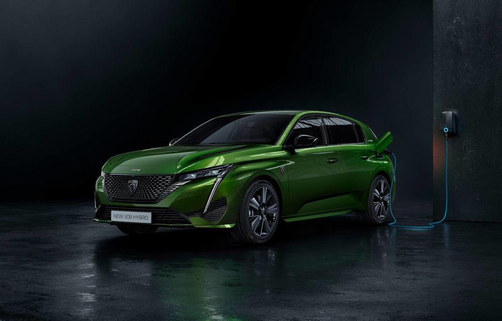 Noul Peugeot 308 ar putea primi o versiune 100% electrică abia în 2023 - Poza 1