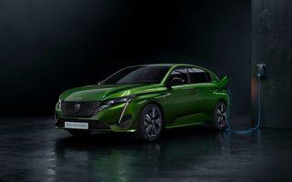 Noul Peugeot 308 ar putea primi o versiune 100% electrică abia în 2023