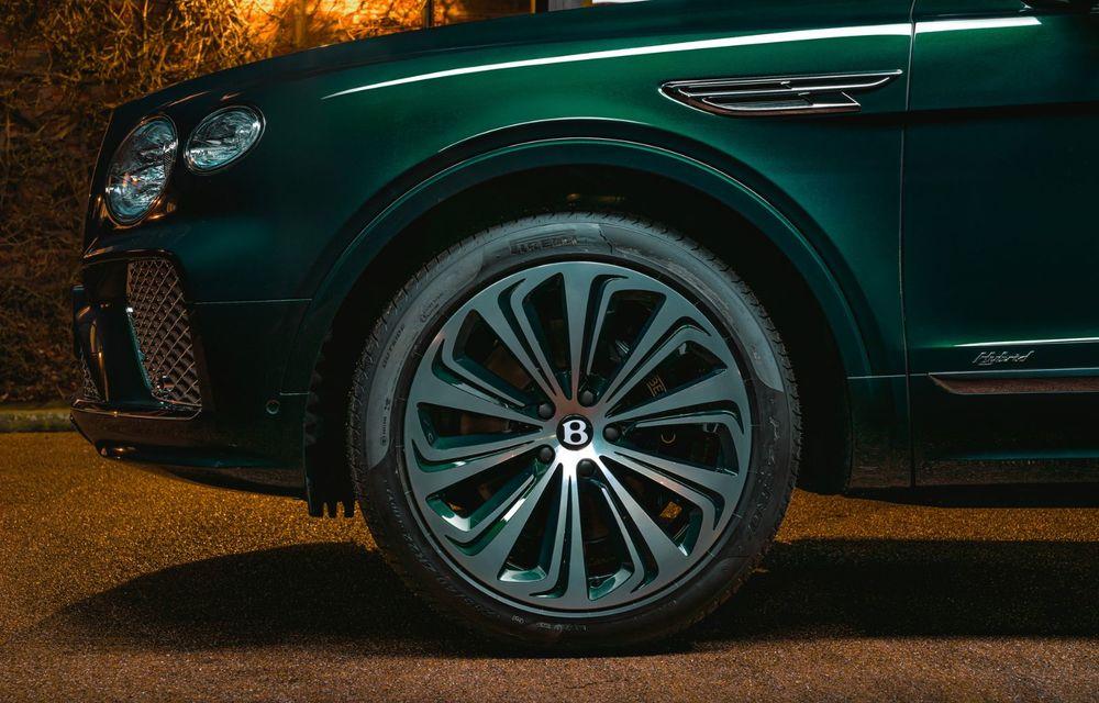 Bentley a realizat, la comandă, un Bentayga Hybrid unicat pentru un client din China - Poza 4