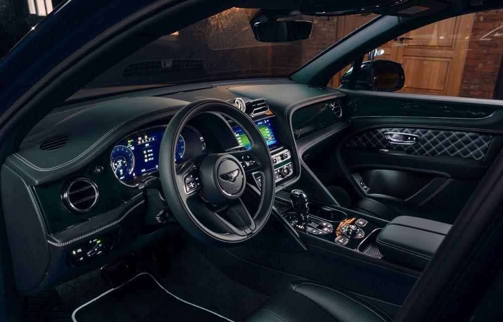 Bentley a realizat, la comandă, un Bentayga Hybrid unicat pentru un client din China - Poza 7