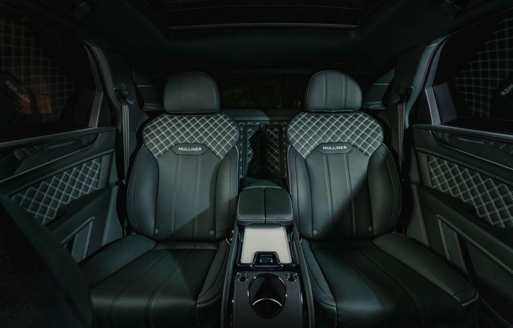 Bentley a realizat, la comandă, un Bentayga Hybrid unicat pentru un client din China - Poza 8