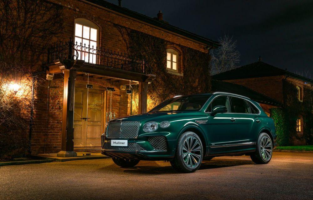 Bentley a realizat, la comandă, un Bentayga Hybrid unicat pentru un client din China - Poza 1