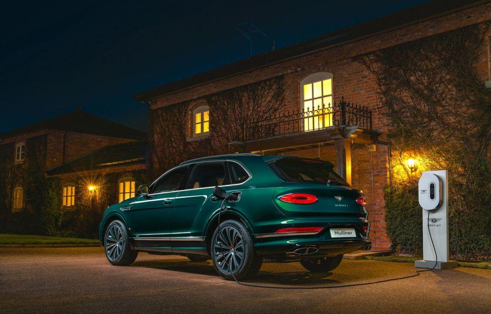 Bentley a realizat, la comandă, un Bentayga Hybrid unicat pentru un client din China - Poza 2
