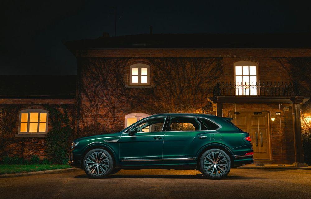 Bentley a realizat, la comandă, un Bentayga Hybrid unicat pentru un client din China - Poza 3