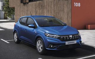 Dacia Sandero a fost al treilea cel mai înmatriculat model din Franța după primul trimestru